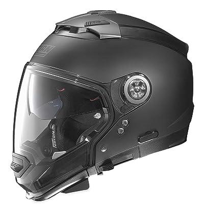 Nolan Unisex Adult N44 EVO Flat Black Modular Helmet NE45270330101
