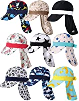 Vaenait Babyベビー 子供水着日焼け予防UVカットフラップキャップ帽子 9 Style Flap Cap
