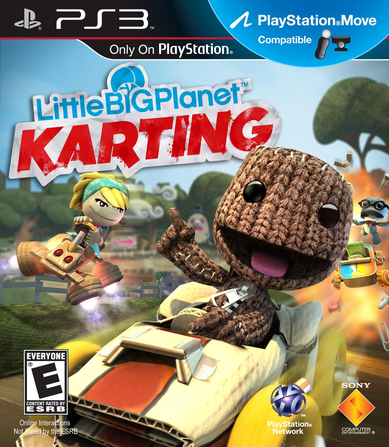 Video Game : LittleBigPlanet Karting - Playstation 3