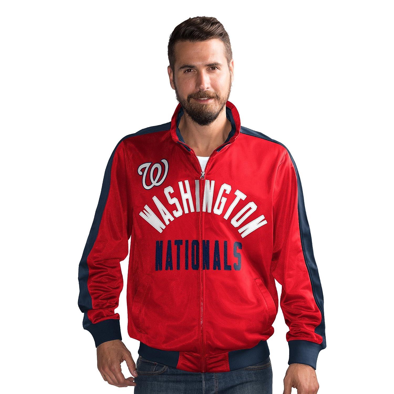 Washington Nationals g-iiiスポーツFinal 4つフルZipトラックジャケット – XXL   B07B2R31XH