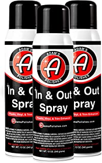 product image for Adam's in and Out Spray - Ultimate Solution for Dressing Those Hard to Reach Areas Around Your Car - Dark, Rich, Longer Lasting Shine (3 Pack)
