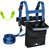 Ski Trainer with Quick-Clamp Wedge