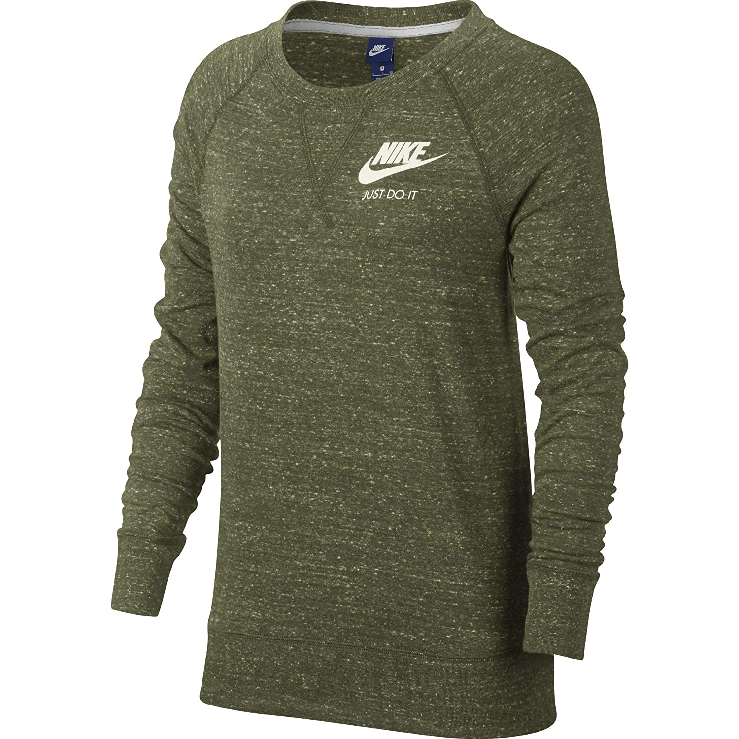 Amazon.com  Nike Womens Gym Vintage Crew Sweatshirt  Sports   Outdoors deb92b082ea2