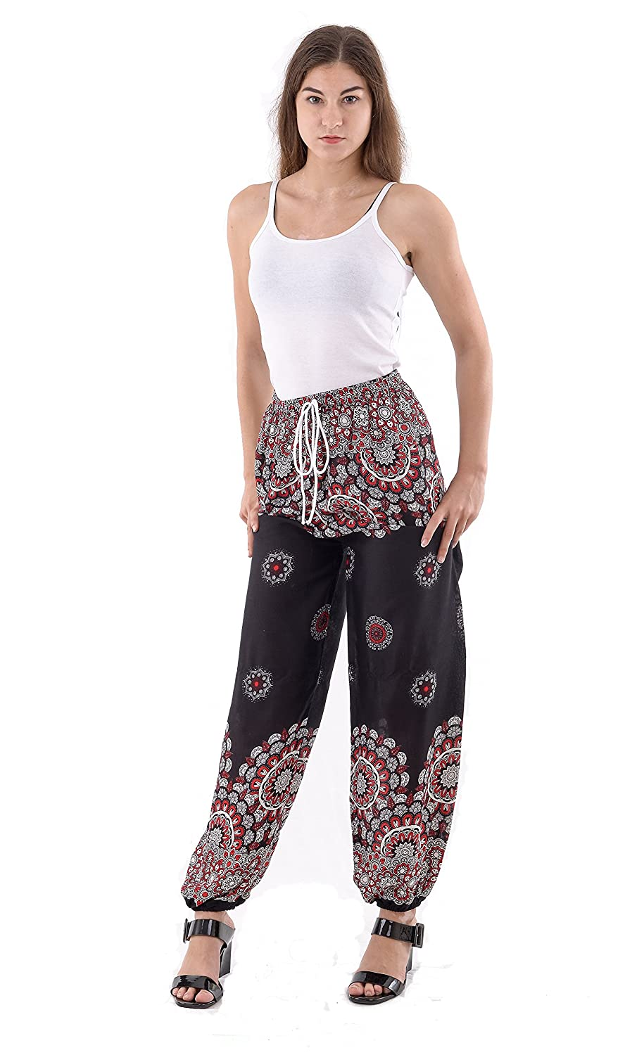 59b6c19239696 Comfortable, Lightweight, Breathable 100% Rayon Free Size fits equivalent  US sizes 0-14 (XS to L) Attractive and with bright colors OaSa pants are a  great ...