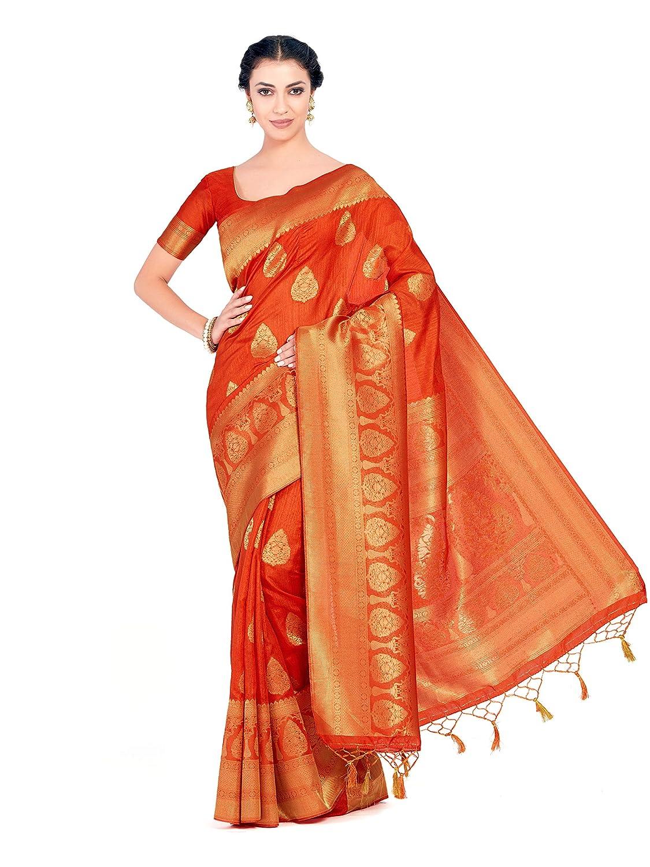Best Designer Art Silk Saree Kanjivaram Style With Blouse light weight saree