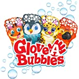 Glove-A-Bubbles Zing 4 Packs with Tray ,Set Includes 1 Penguin, 1 Fox, 1 Leopard, 1 Parrot : Great for Outdoor Play…