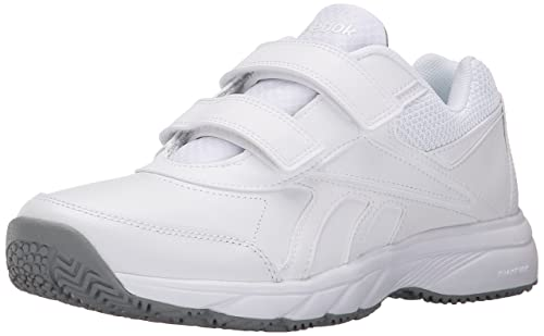 Reebok Women S Work N Cushion Kc 2 0 Walking Shoe White Flat Grey 5 M Us