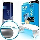 Dome Glass, Vetro Temperato Galaxy Note 8 , Custodia Compatibile, Whitestone Copertura Completa 3D Schermo Edge [Tecnologia Liquid Dispersion] per Samsung Galaxy Note8