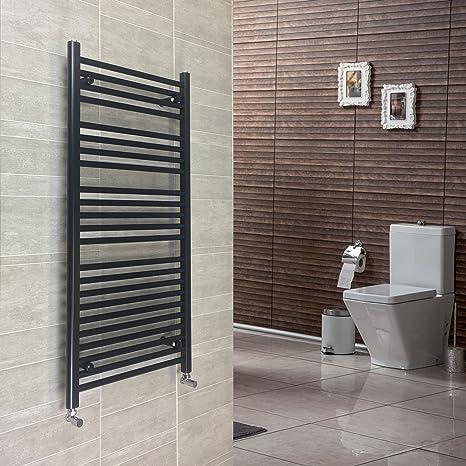 Riscaldamento centrale porta asciugamani Rad Riscaldamento Centralizzato Radiatore da bagno larghezza 500mm NUOVO