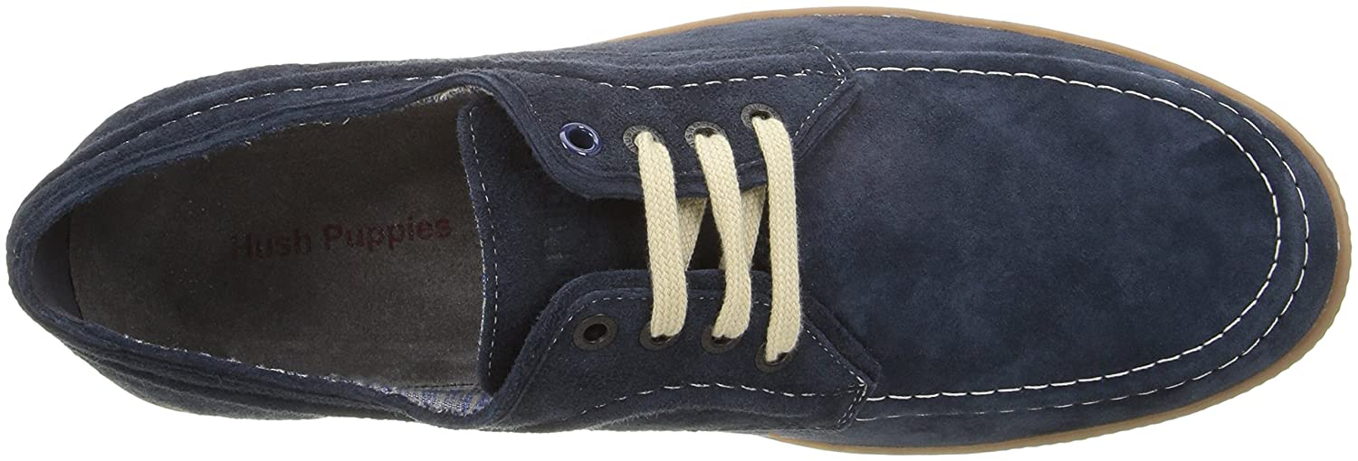 Hush Puppies Herren Teague Roadcrew Marineblau Wildleder Gummi Gummi Gummi 5d71e1