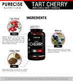 Tart Cherry Extract Capsules 1500mg with Bilberry