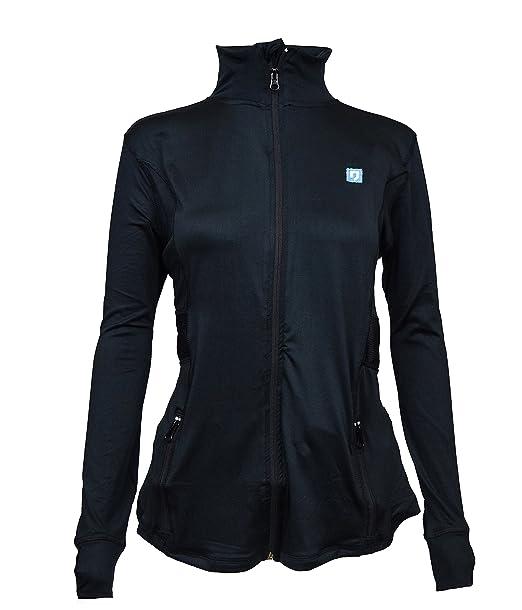 Amazon.com: rahnr elástico de correr para mujer chaquetas ...