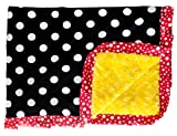 Minky Couture Travel Happiest Blanket on