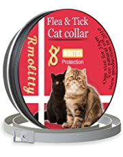 Rmolitty Zecken Halsband für Katzen, 8 Monate Schutz, 34cm
