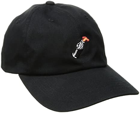 0addcc6ec67 Cap Men HUF Cocktail Hour Curved Visor 6 Panel Cap  Amazon.co.uk  Clothing