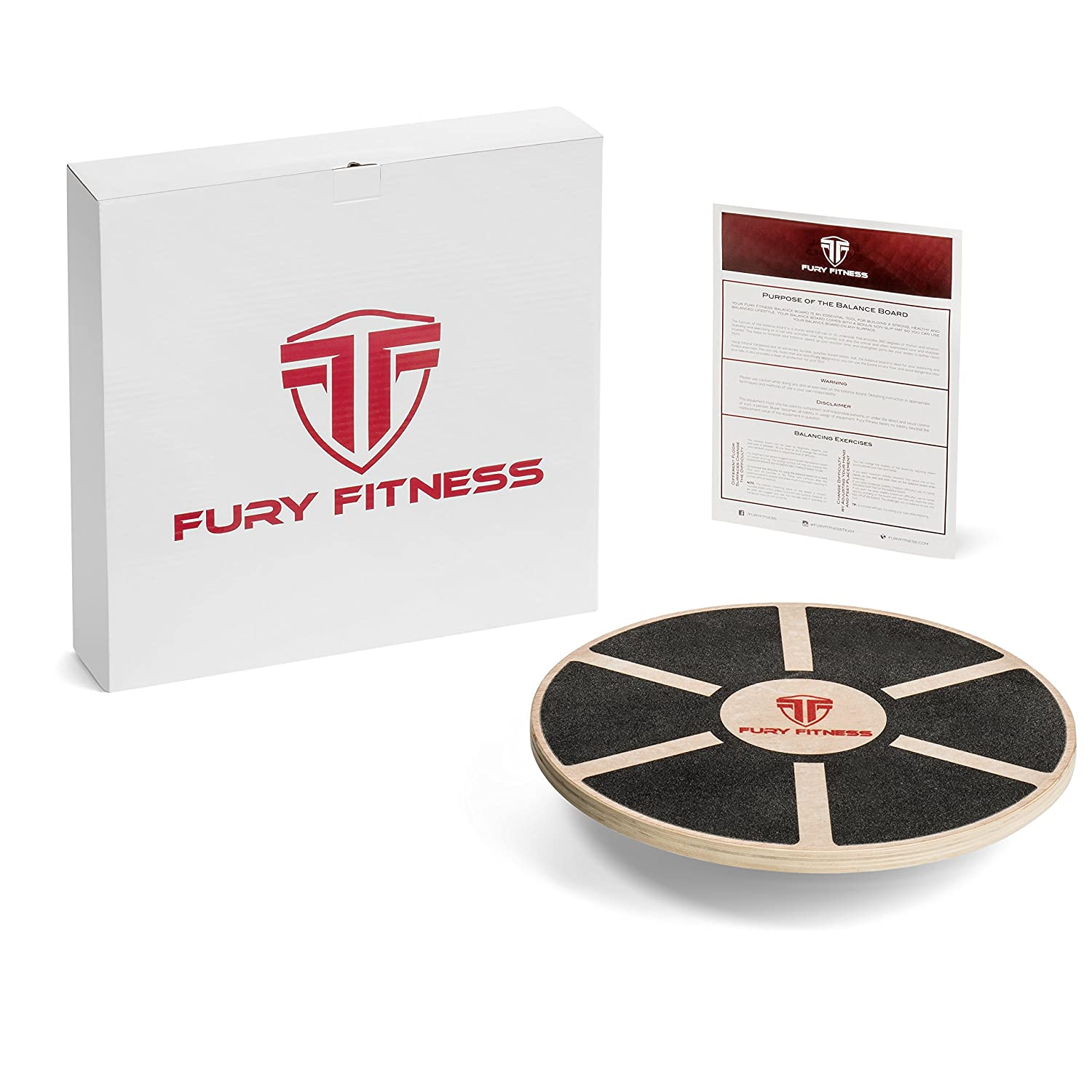 Fury Fitness Balance Board For Active Men & Women