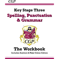 Spelling, Punctuation and Grammar for KS3 - Workbook (with answers) (CGP KS3 English) (English Edition)
