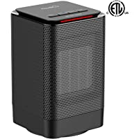 Kloudic Portable Oscillating Electric Space Heater
