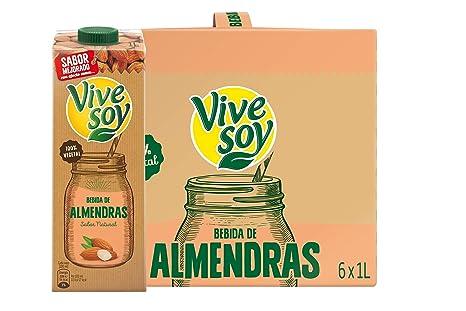 Vivesoy Leche de Almendras - Paquete de 6 x 1000 ml - Total ...