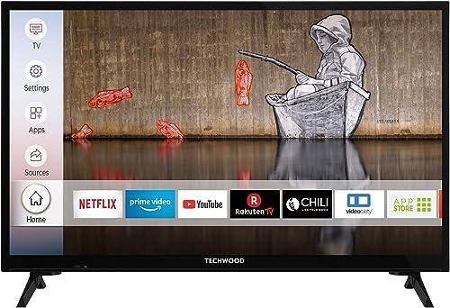 Techwood-H24T52E-24-Zoll-Fernseher-Smart-TV
