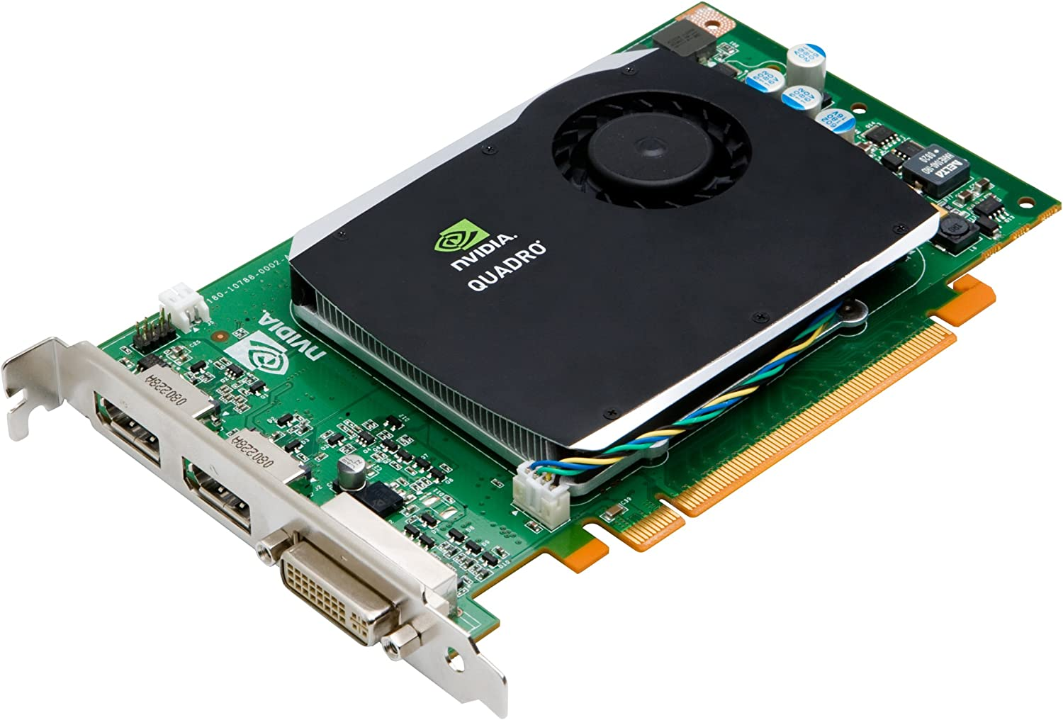 NVIDIA Quadro FX 580 by PNY 512MB GDDR3 PCI Express Gen 2 x16 DVI-I DL and Dual DisplayPort OpenGL, DirectX, CUDA and OpenCL Profesional Graphics ...