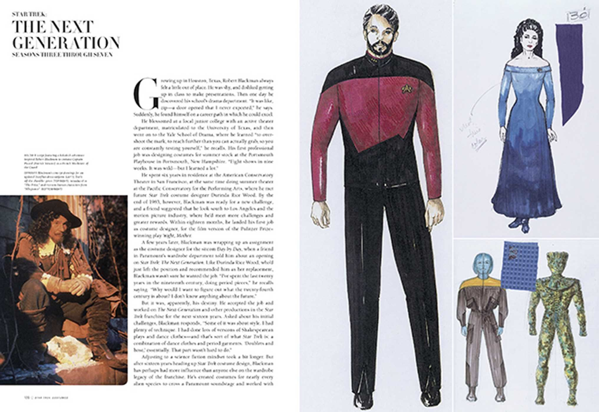 Star Trek: Costumes: Five decades of fashion from the Final ...