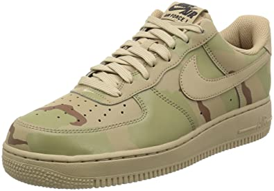 nike air force 1 07 LV8 mens trainers 718152 sneakers shoes (US 7 sand black 204)