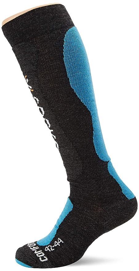 X-Socks Ski Comfort, Calcetines para Hombre, Hombre, X020280, Antracite/
