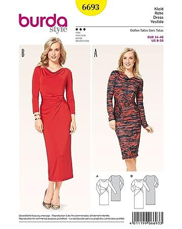 Burda Dress pattern 6693 size 8-20