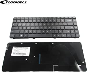 New Laptop Keyboard Replacement for HP Compaq HP Pavilion Presario CQ42 CQ42-100 CQ42-200 G42 G42-300 G42T-200 G42-230US G42-240US G42-410US G42-232NR G42-224CA Black US Layout