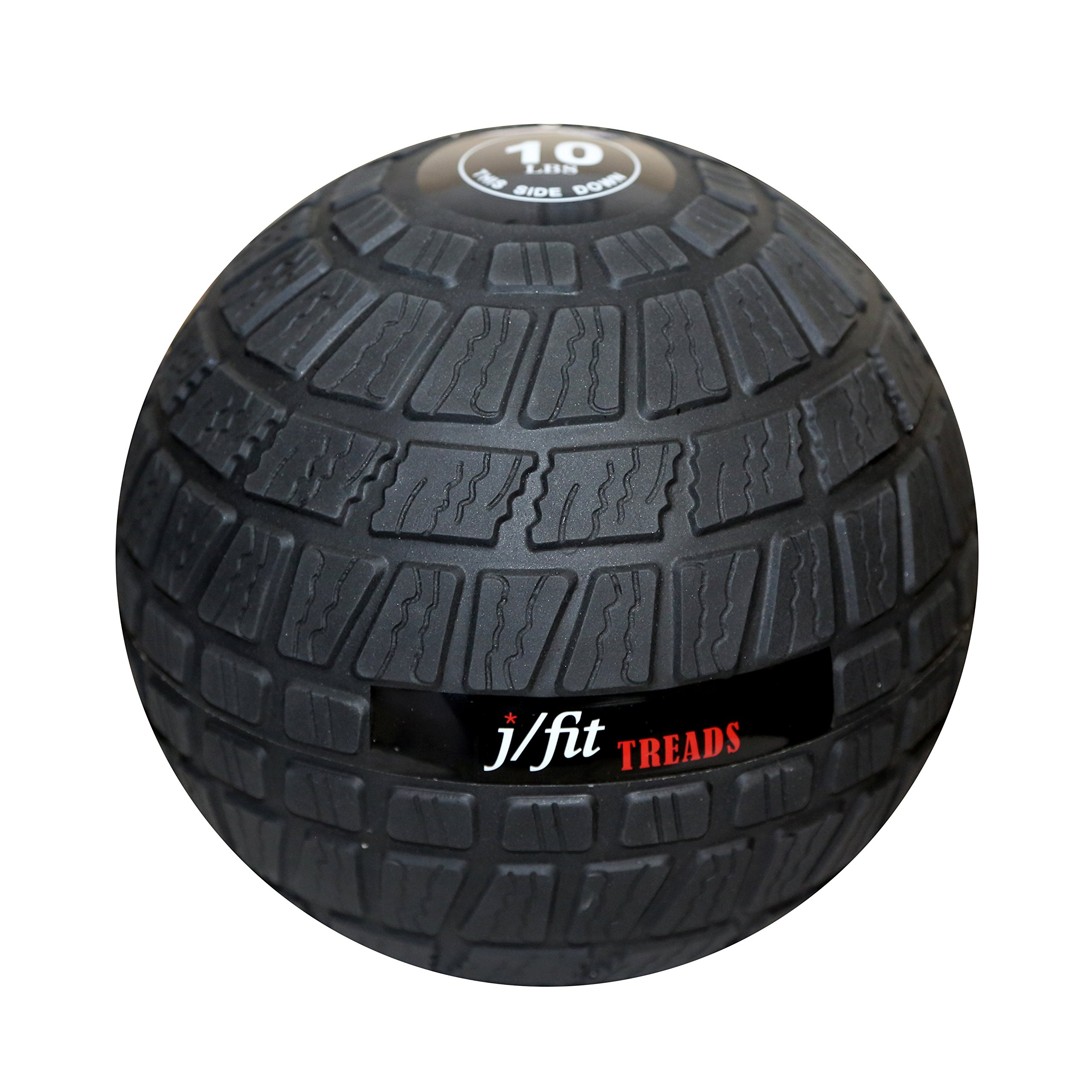 j/fit TREADS Dead Weight Slam Ball with Easy-Grip Textured Surface, 45 lb by j/fit (Image #4)