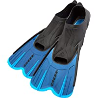 Cressi Agua Short Fins for Swimming and Snorkeling
