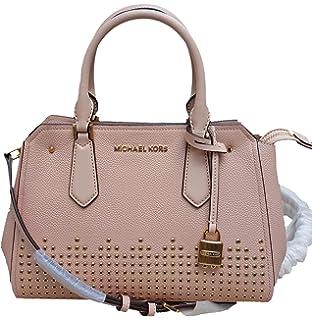 Michael Kors Cynthia Small Smooth Leather Shoulder Bag