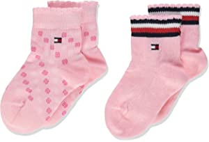 Tommy Hilfiger Baby Girls Calf Socks Pack of 2
