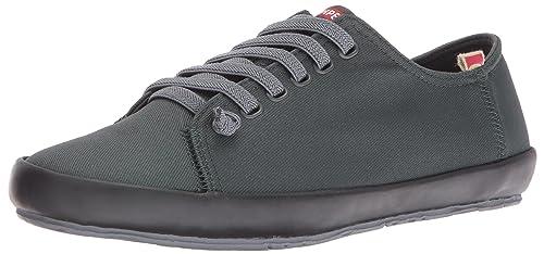 Camper Borne, Zapatillas para Mujer, Gris (Dark Grey 001