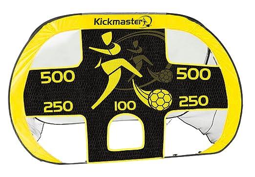 7 opinioni per Kickmaster, Quick Up, Porta e bersaglio, colore: Giallo/Nero