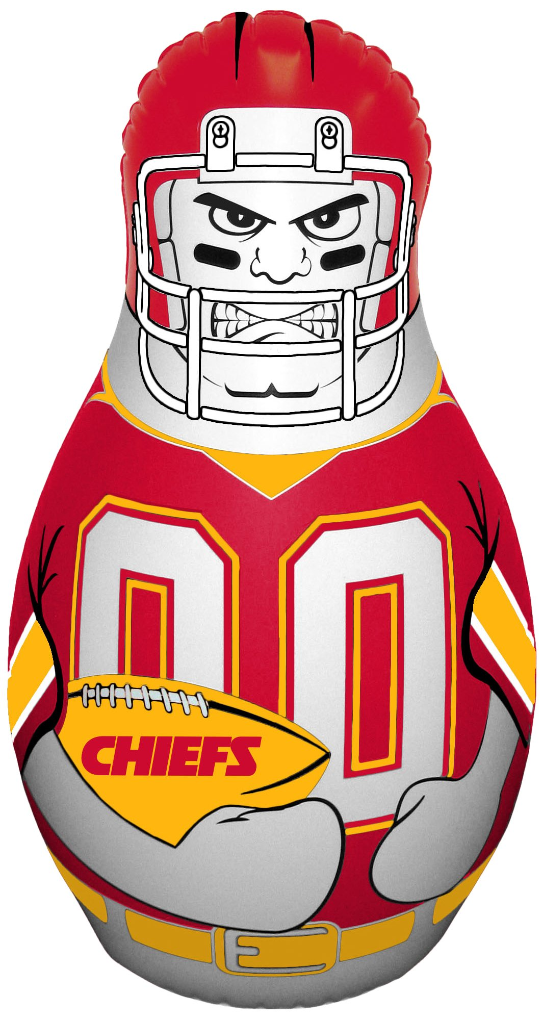 NFL Kansas City Chiefs Mini Tackle Buddy by Fremont Die (Image #1)