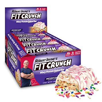 Amazon FITCRUNCH Protein Bars
