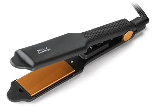 Nicky Clarke Hair Therapy Wide Plate Hair Straightener