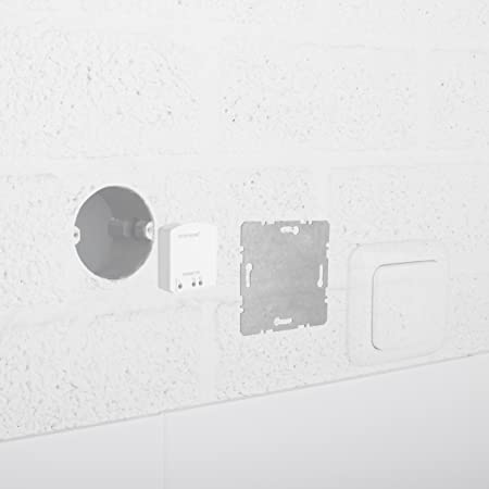 Blanco Smartwares SH5-TBR-A Transmisor Smarthome de Interior con Interruptor inal/ámbrico de 1 Canal