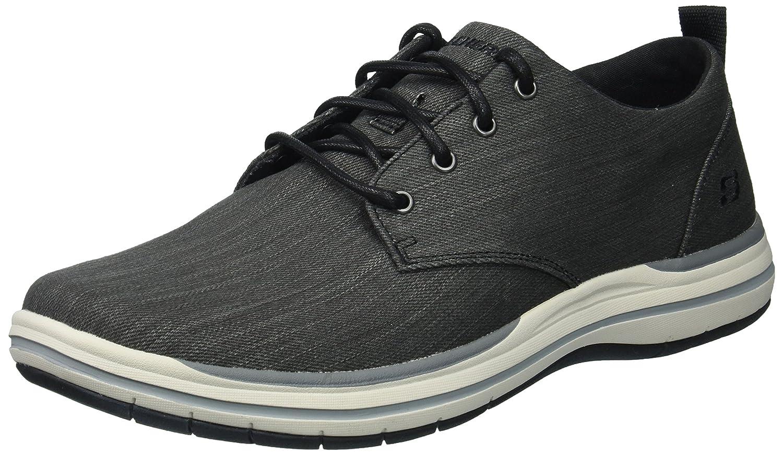 TALLA 42 EU. Skechers Encaje De Elson Moten Mens Casuales Zapatos