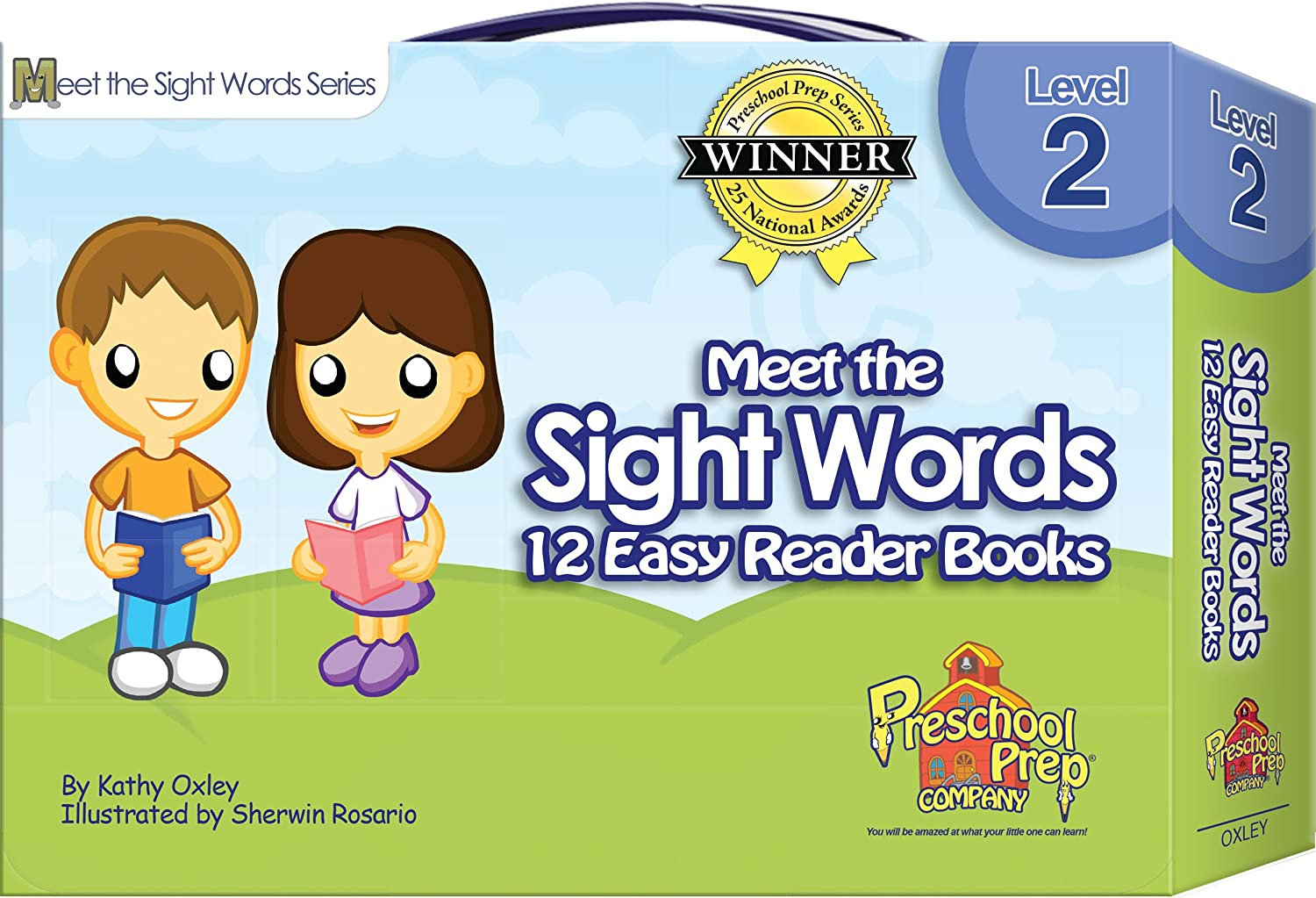 Amazon.com: Meet the Sight Words - Level 2 - Easy Reader Books ...