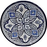 Etnico Decoración Plato Cerámica Pared Caudal Decorativo Marruecos