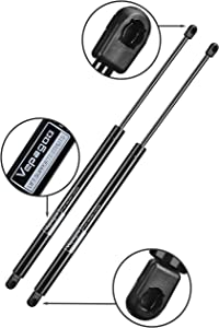 C1608055 19.7 inch 120Lbs Shock Struts for are Leer Truck Bed Tonneau Cover RV Bed Lift Camper Shell, Shed Window Floor Hatch Door, and Other DIY Applications, Set of 2 Vepagoo.