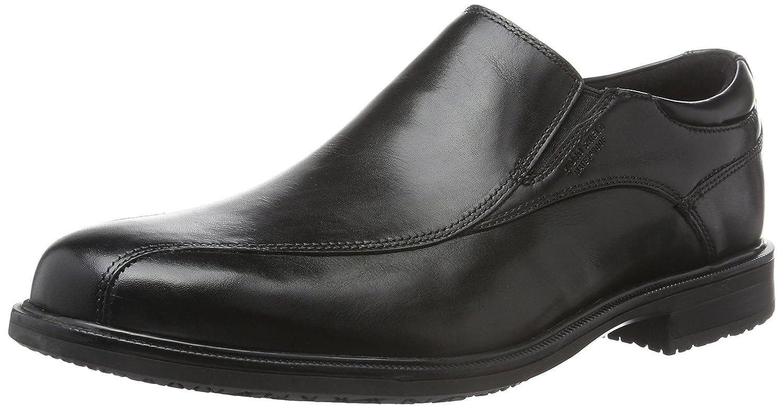 Rockport Essential Detail II Bike Toe, Mocasines para Hombre 44 EU|Negro (Black Leather)