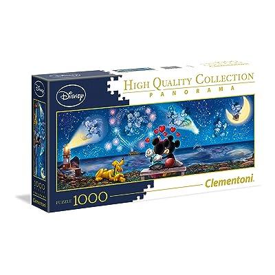 Minnie - Puzzle panorámico de Disney, 1000 Piezas, 39449: Juguetes y juegos