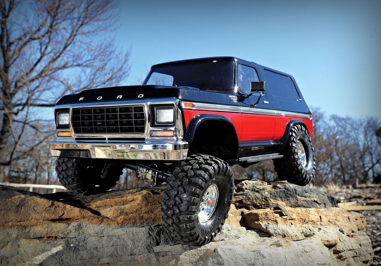Traxxas TRX-4 Ford Bronco 82046-4 (rojo)