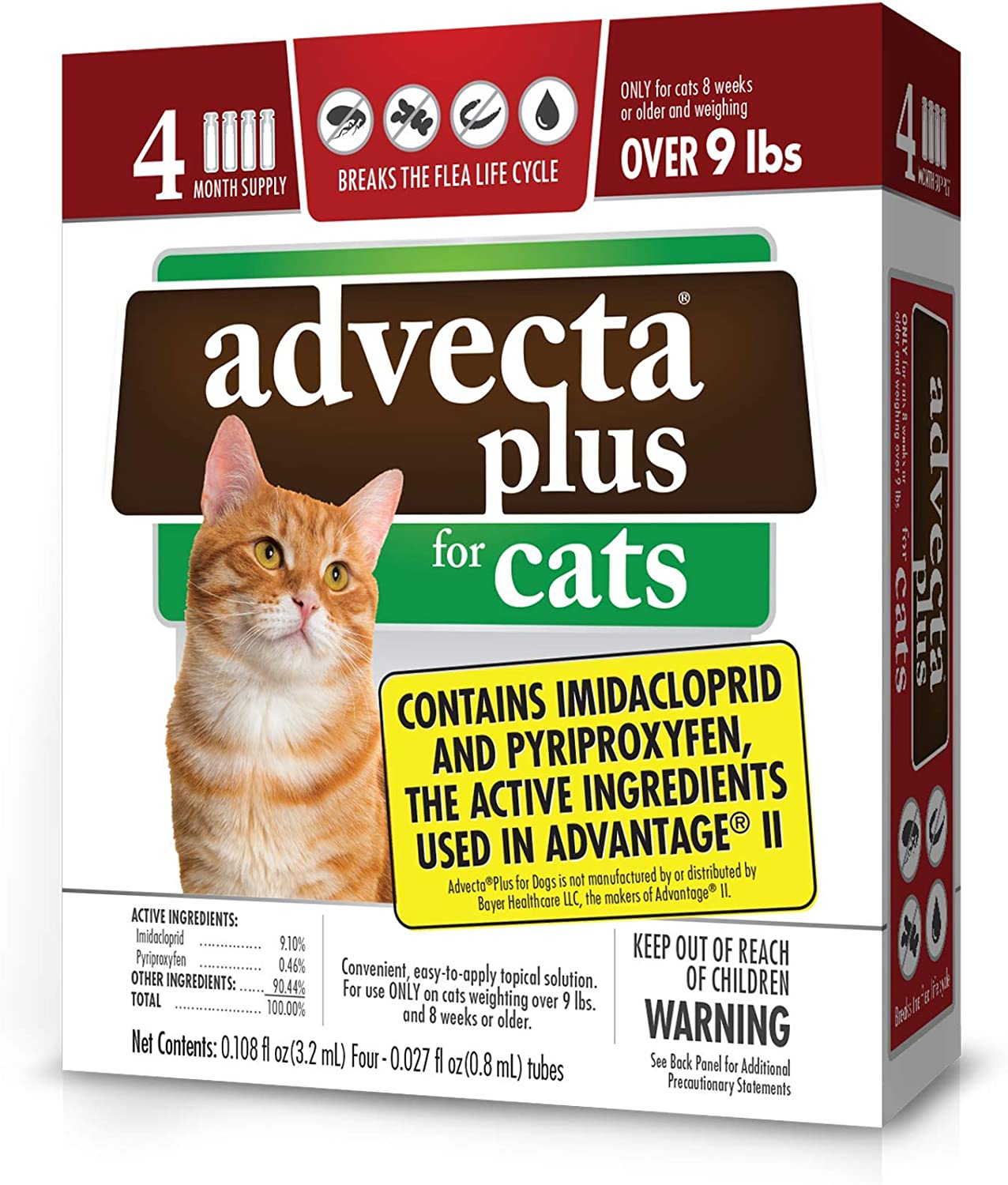 4. Advecta II Flea Treatment