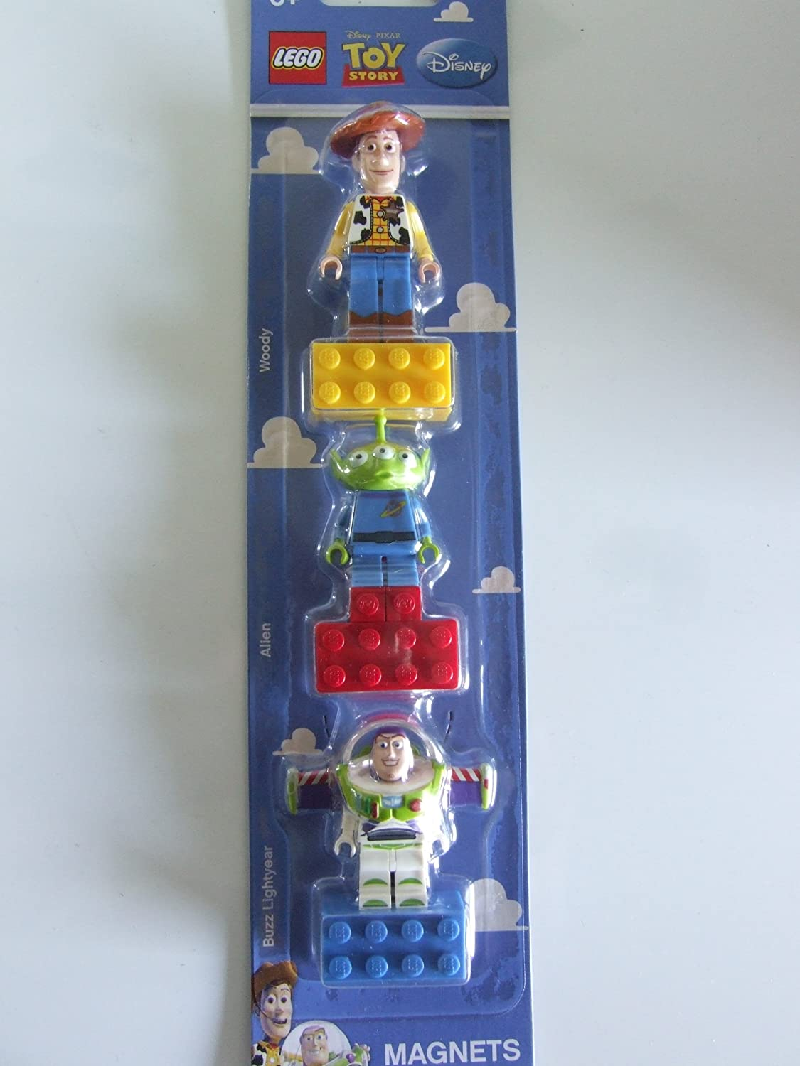 LEGO Toy Story Magnets Set of 3 - Woody, Alien, Buzz