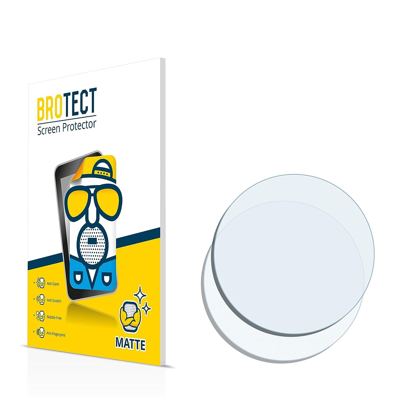 BROTECT Pellicola Protettiva Opaca Orologi (Circolare, Diametro: 16mm) Protezione Schermo [2 Pack] - Anti-Riflesso, Anti-Graffio Bedifol